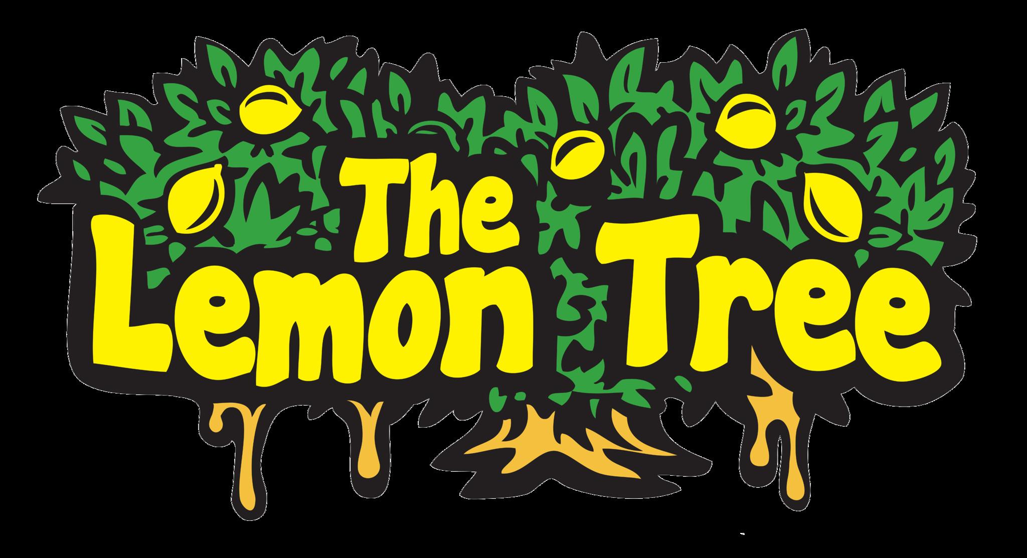 The dripping lemon sticker. Lemons clipart citrus tree