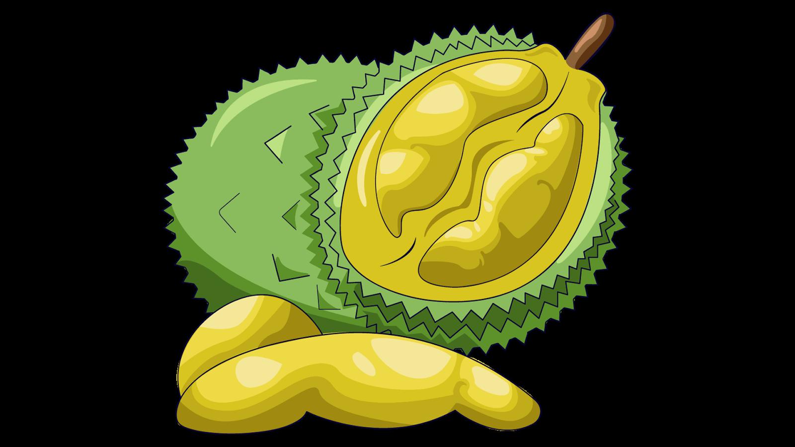 Lemons clipart durian fruit. Food clip art transprent