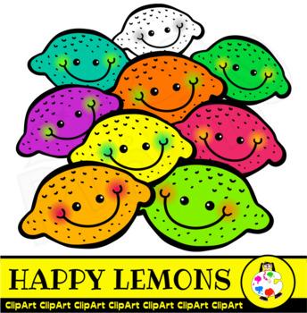Doodle clip art . Lemons clipart happy lemon