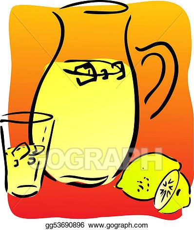 Stock lemonade and . Lemons clipart illustration