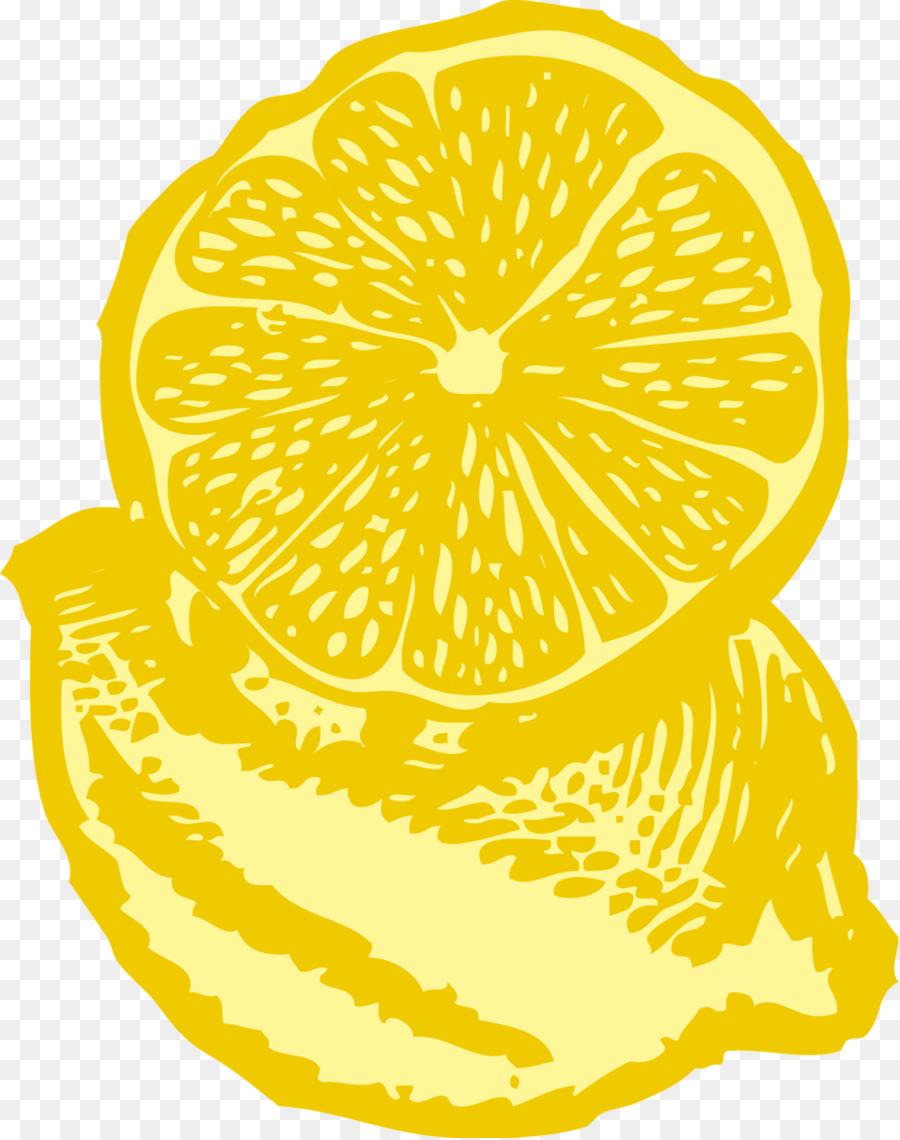 Lemon tree food fruit. Lemons clipart illustration
