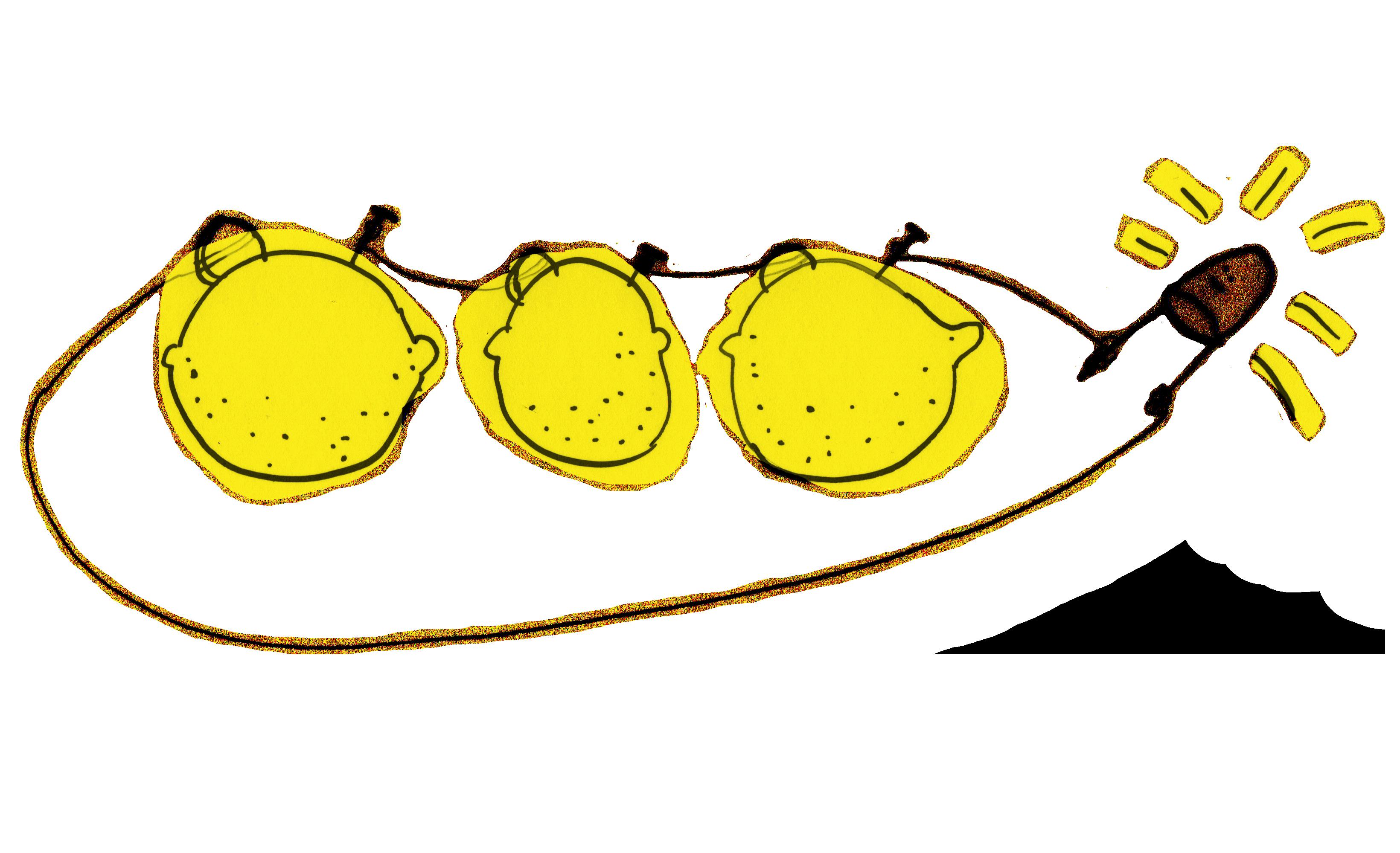 Lemons clipart lemon battery. Basics about electric circuits