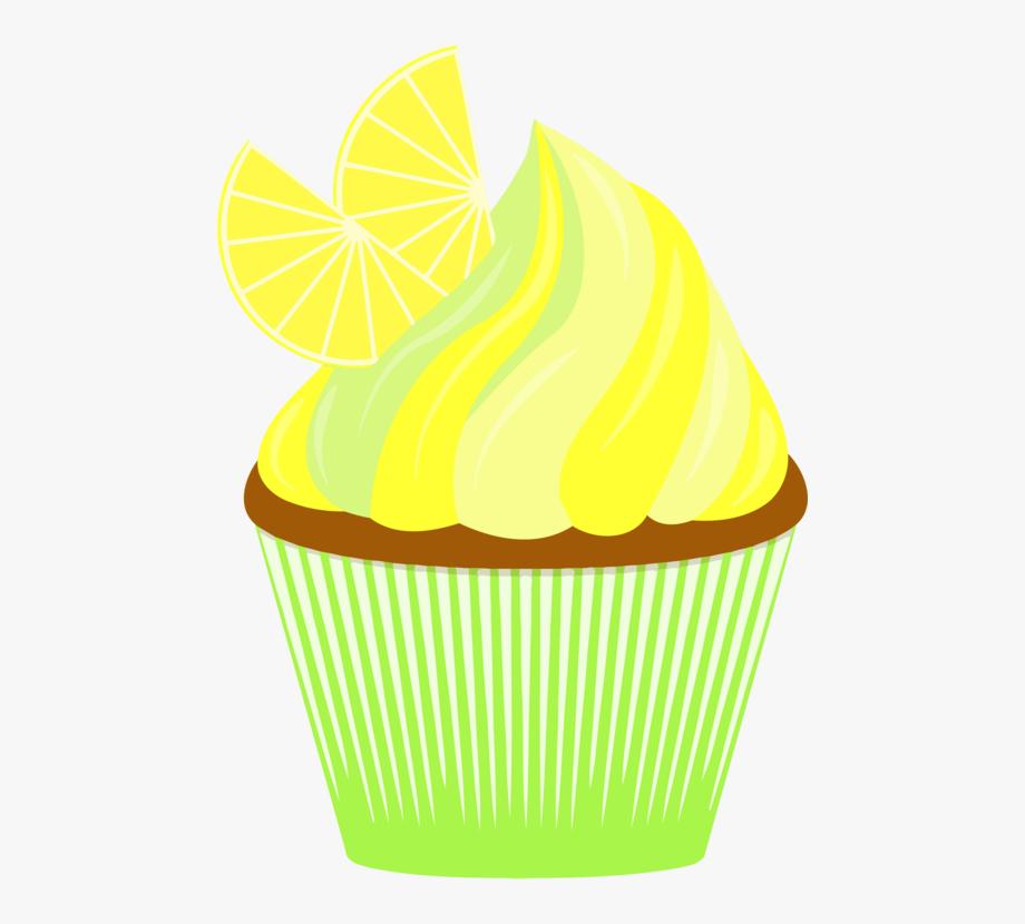 Muffin cupcake cliparts . Lemons clipart lemon cake