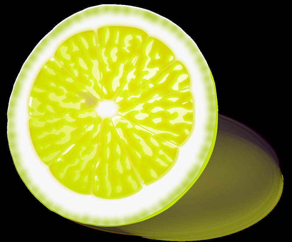 Free stock photo illustration. Lemons clipart lemon slice