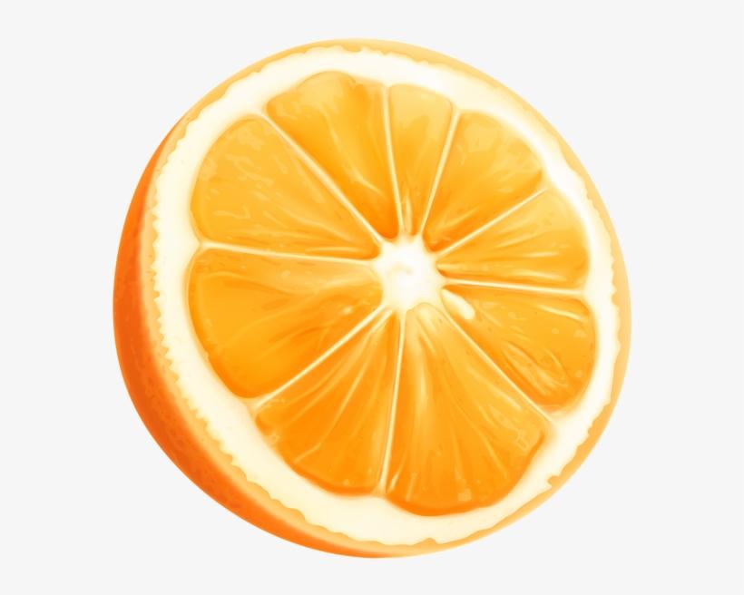 Lemons clipart orange. Slice png clip art
