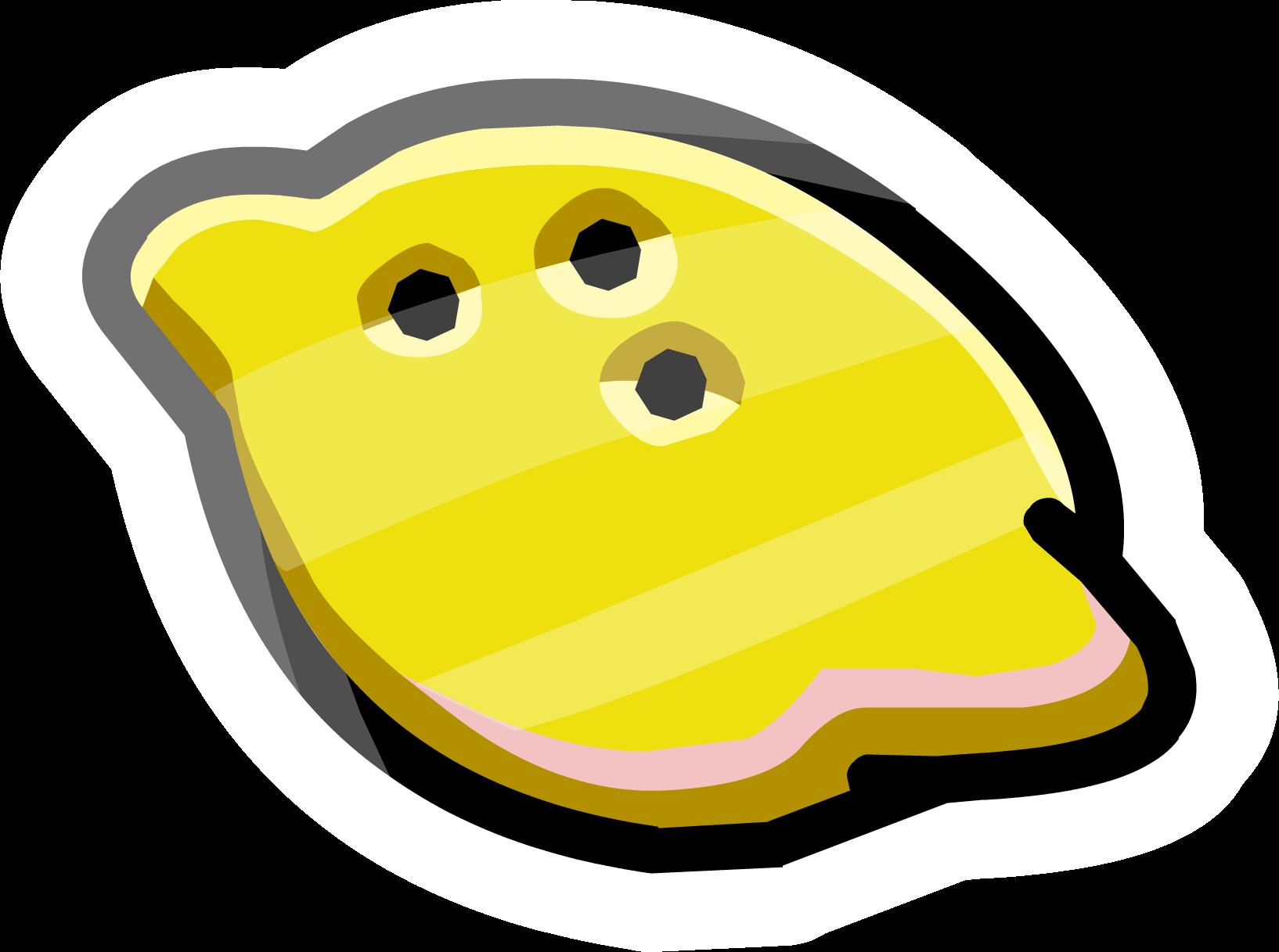 Lemon pin club penguin. Lemons clipart smile