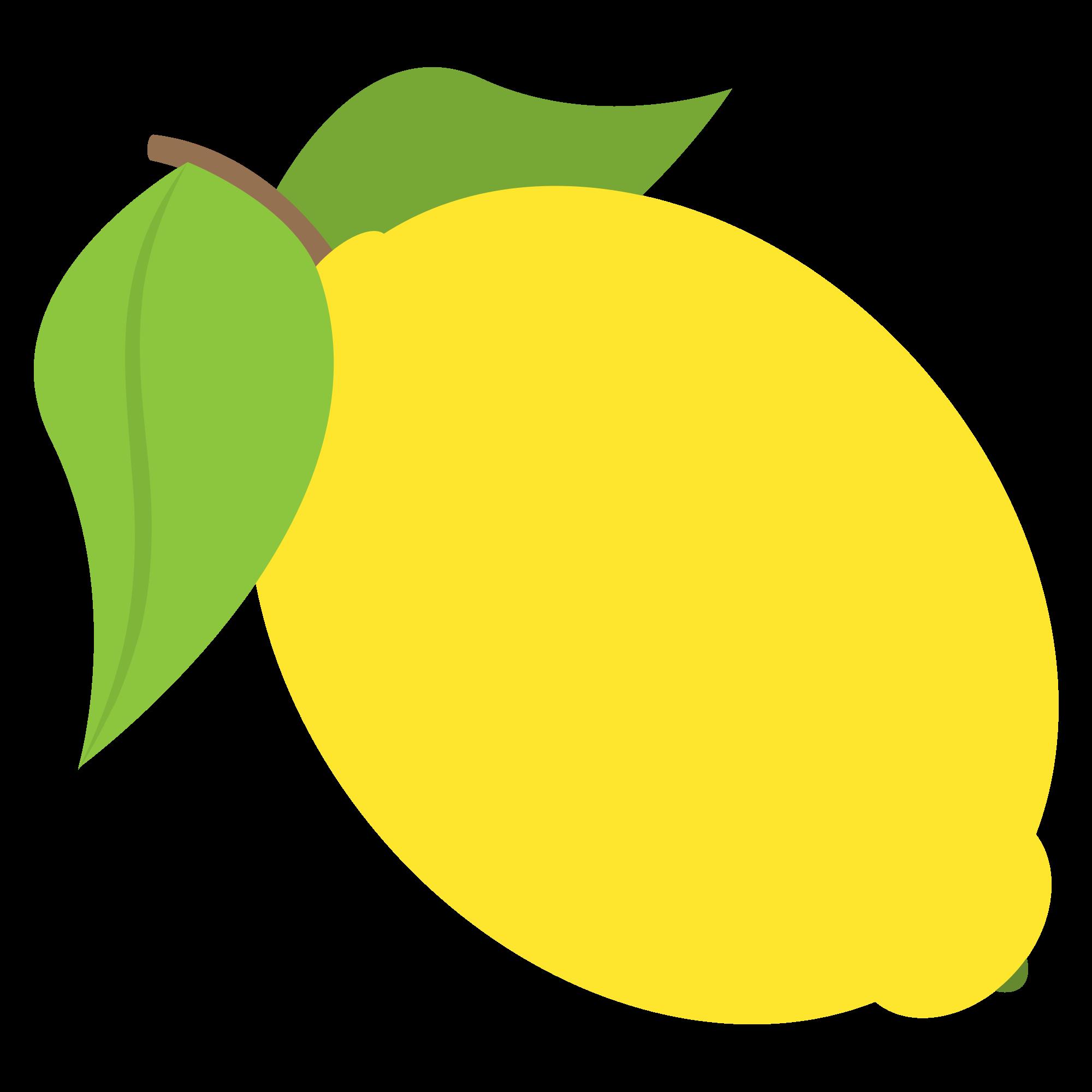Lemons clipart svg. File emojione f b