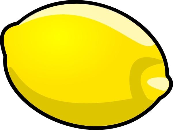 Lemons clipart vector. Lemon clip art free