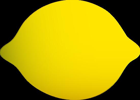 Whole lemon free clip. Lemons clipart yellow