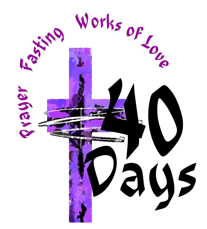 days clip free. Lent clipart art