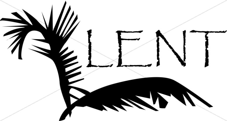 Lent clipart black and white. Free download best on