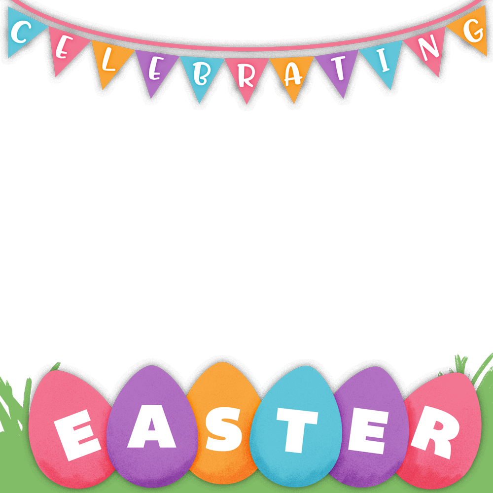 Steal these spring and. Lent clipart border