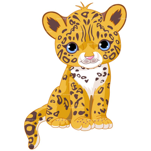 Free images at clker. Leopard clipart