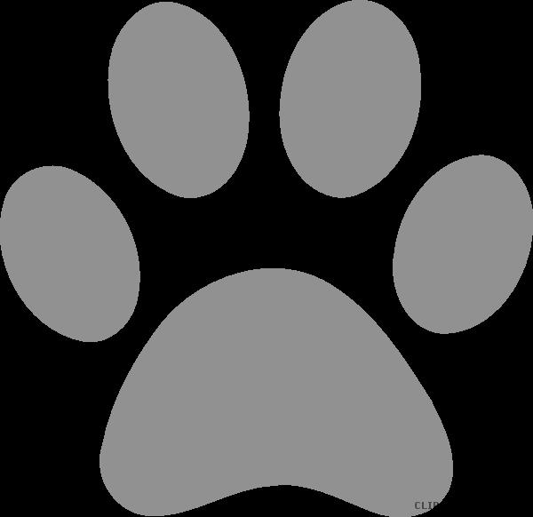 Pawprint clipart jpeg. Leopard paw print clipartblack