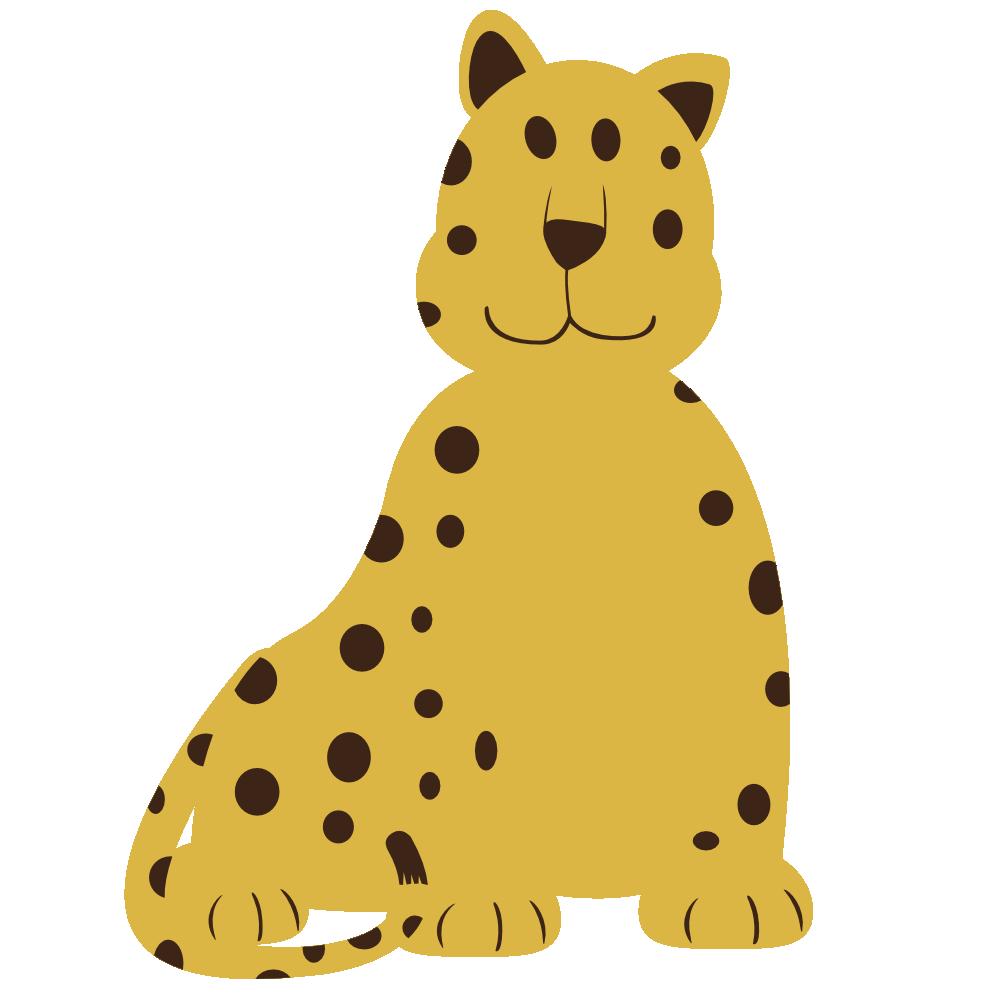 Clipartist net clip art. Leopard clipart vector