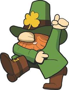 Leprechaun clipart. This cute and adorable