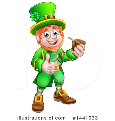 Illustration by atstockillustration royaltyfree. Leprechaun clipart