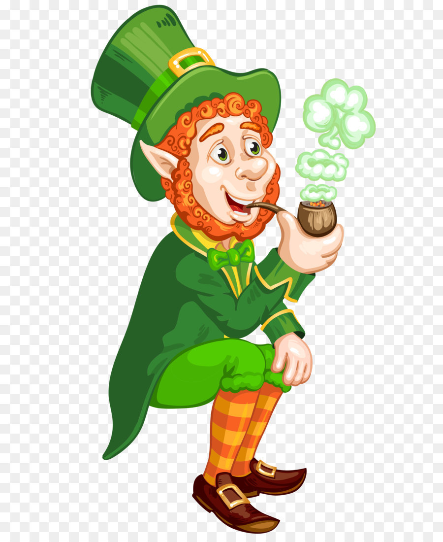 Saint patrick s day. Leprechaun clipart