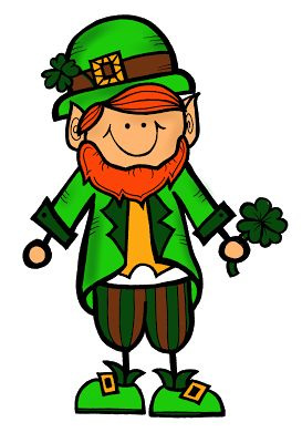 best st patricks. Leprechaun clipart