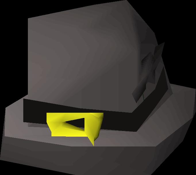 Black hat old school. Leprechaun clipart boot