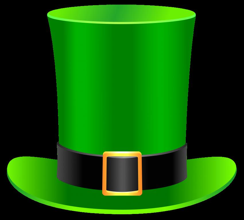 Patrick leprechaun hat png. Music clipart st patricks day