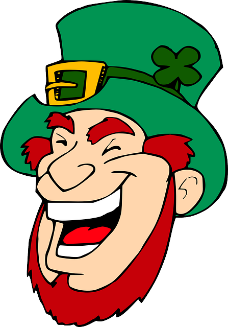 Leprechaun clipart famous. Free photo man irish