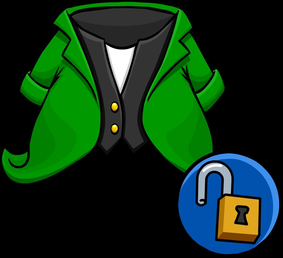 Image tuxedo unlockable icon. Leprechaun clipart famous