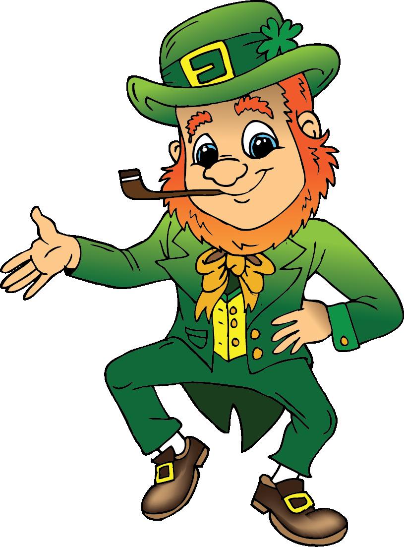 Ireland saint patricks day. Leprechaun clipart famous