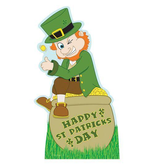Leprechaun clipart famous. Cardboard cutout insperation