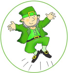 Leprechaun clipart jpeg. St patrick s day