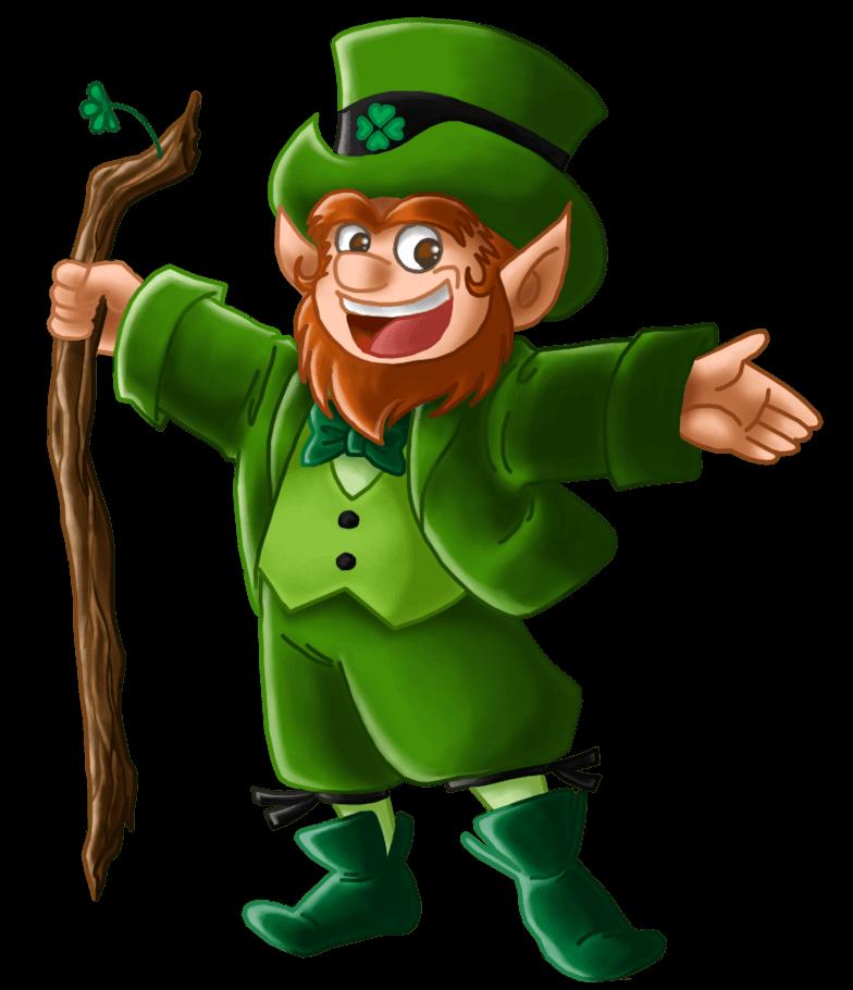 Leprechaun clipart lucky leprechaun. Mobile slot review play
