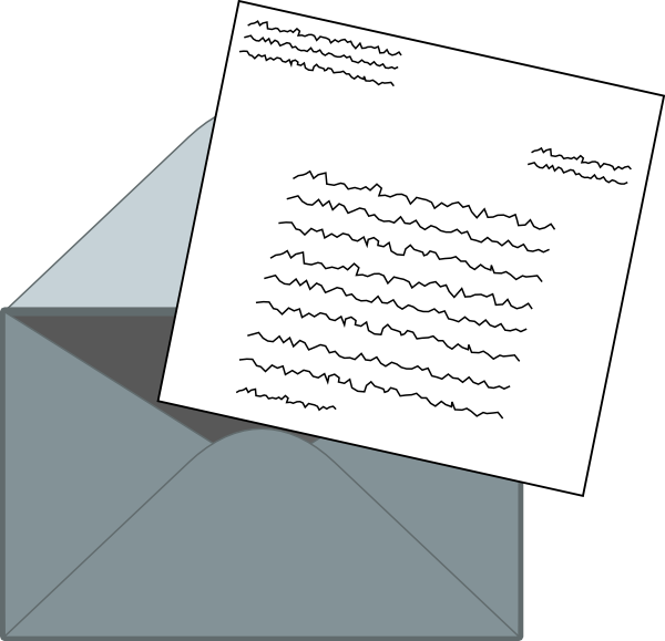 Envelope clipart letter post. Mail clip art at