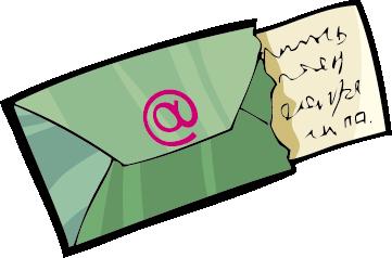. Letters clipart business letter
