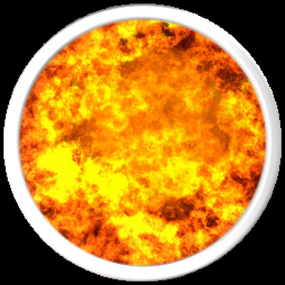Letter clipart flame. Fireball template romeo landinez