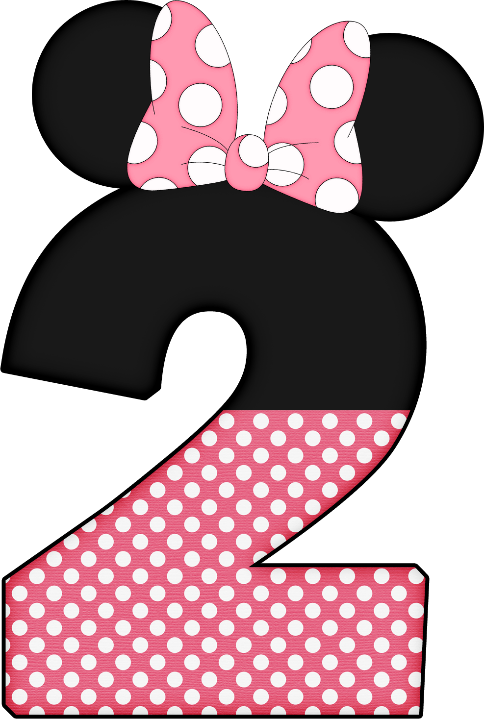 numbers pinterest minnie. Letters clipart mickey mouse