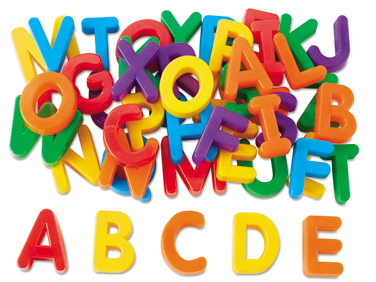 Letters clipart. Magnetic