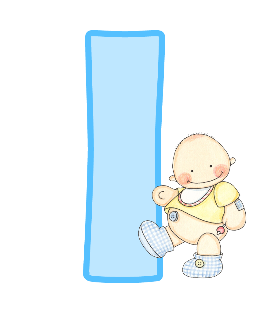 Letters clipart baby. I png shower pinterest
