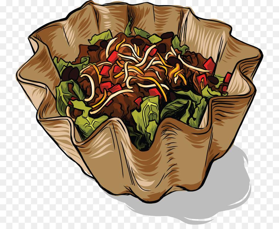 Taco cartoon . Lettuce clipart american