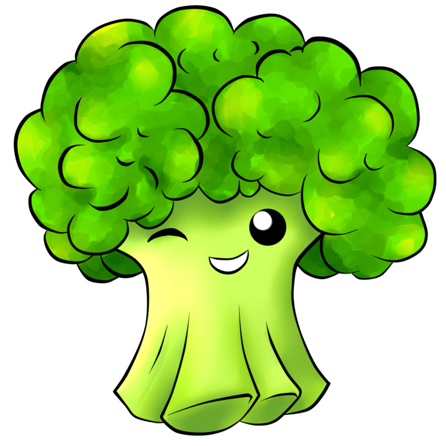 Lettuce clipart broccoli. Forgetmenot vegetables funny