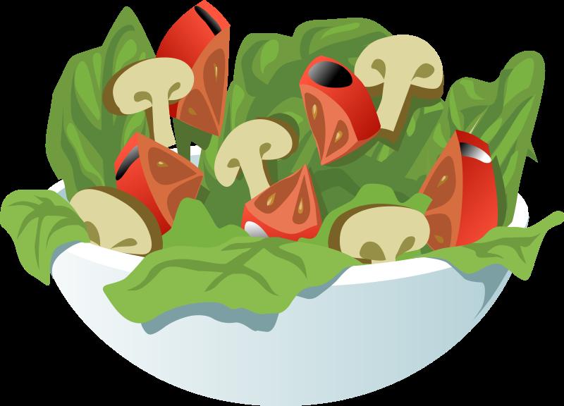 Lettuce piece lettuce