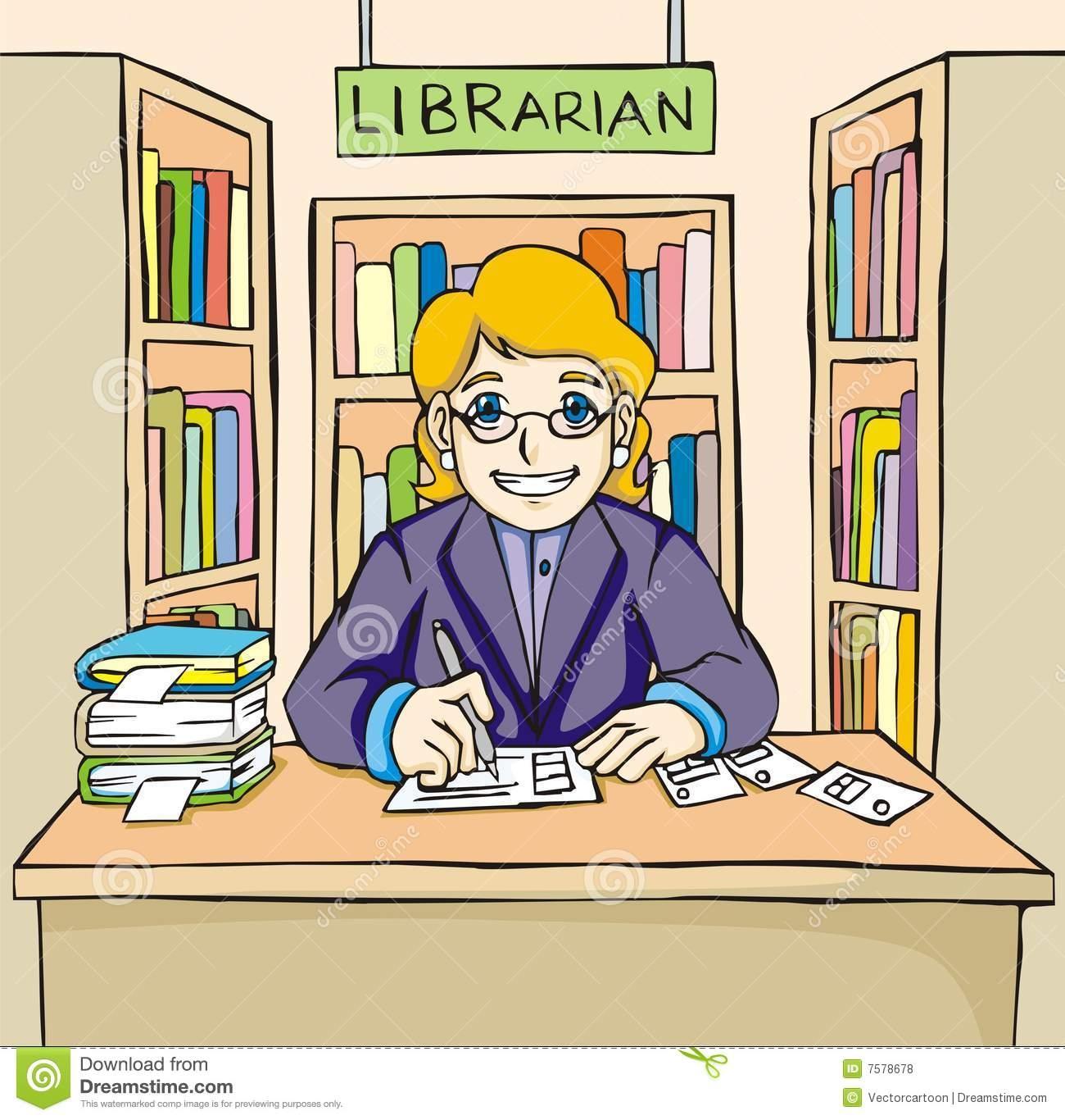 Librarian clipart. Fresh design digital collection