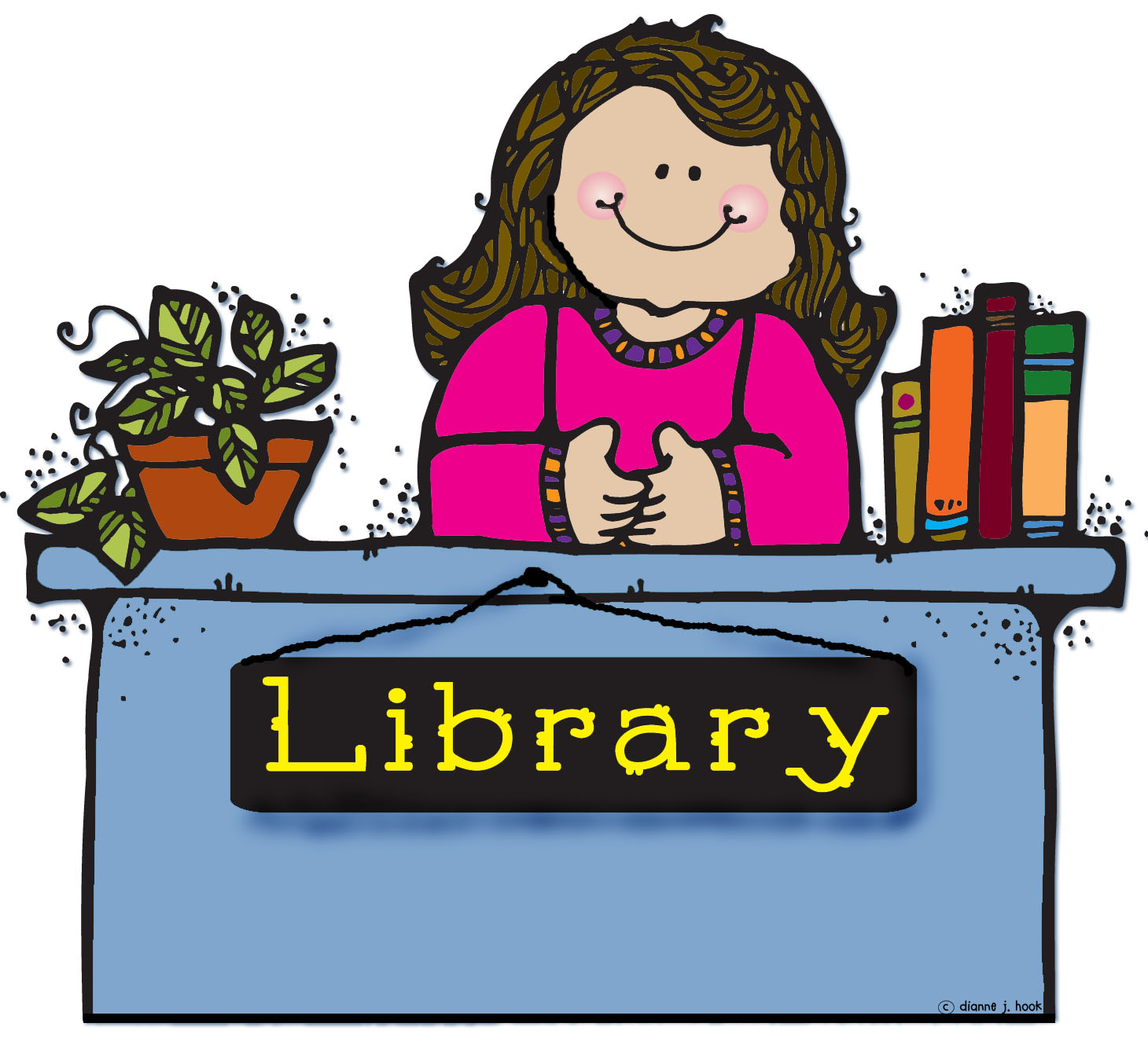 Librarian clipart. Station