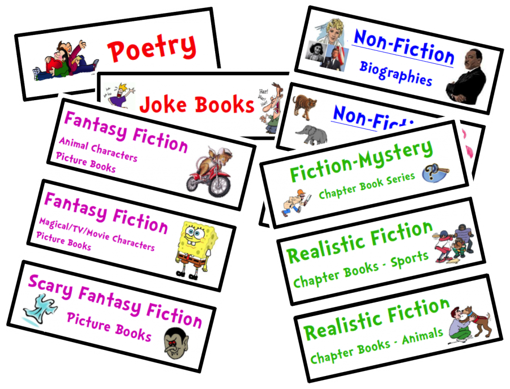 Organize your free genre. Library clipart classroom library