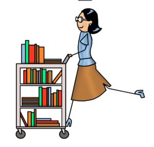 Librarian clipart school job. Opening washington park library