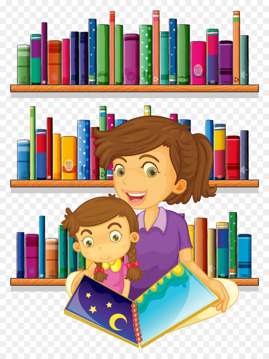 Child reading book png. Librarian clipart teacher education