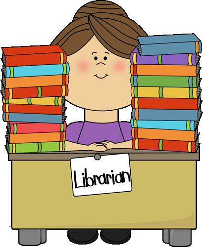 Textbook clipart librarian. Clip art image