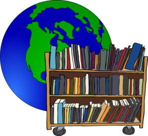 Small . Library clipart