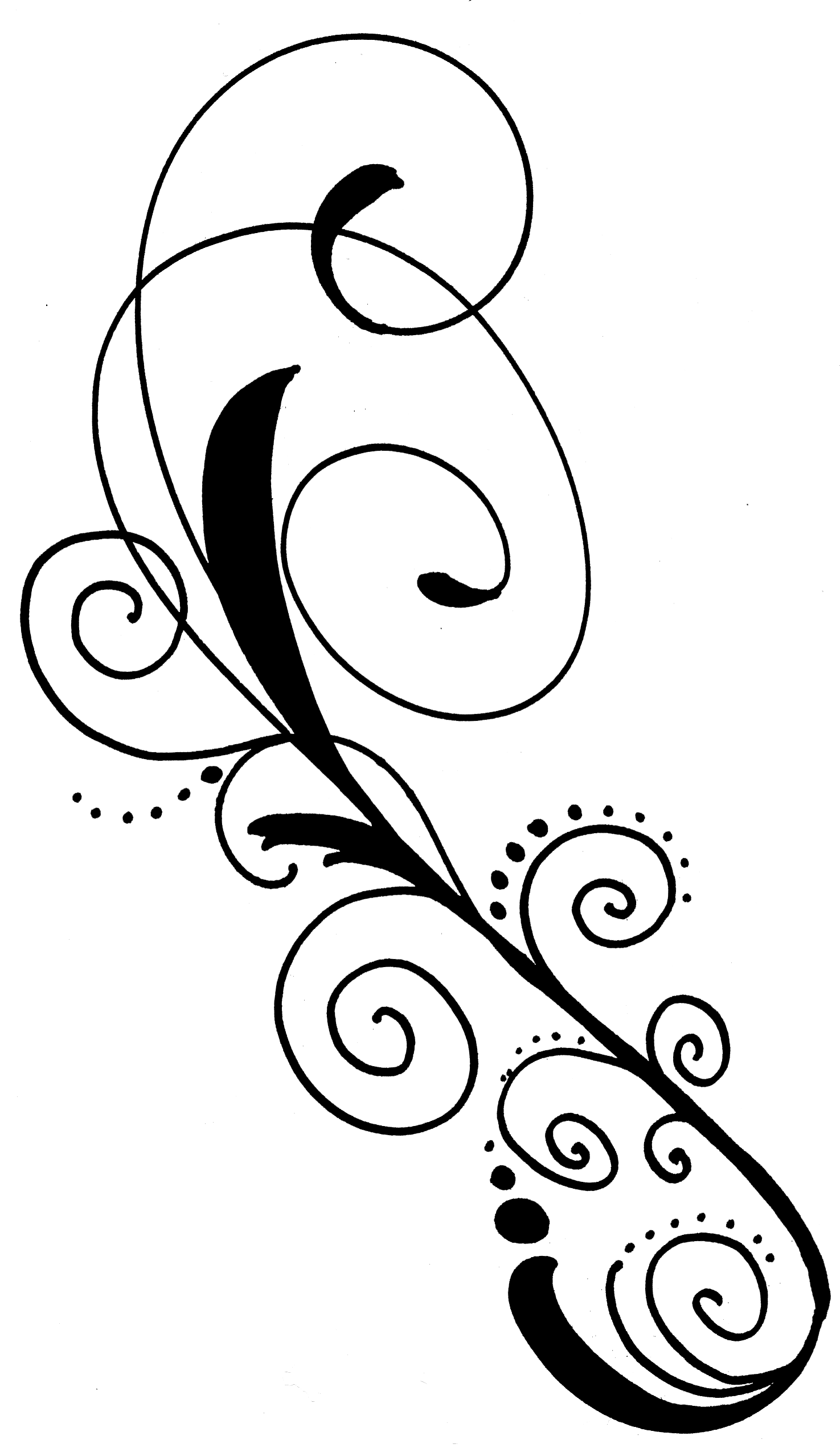 Drawn swirl clip art. Syringe clipart vector