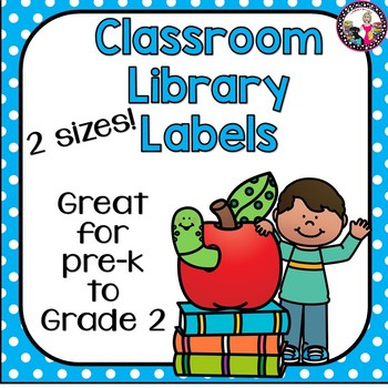 Library clipart pre k. Classroom labels for to