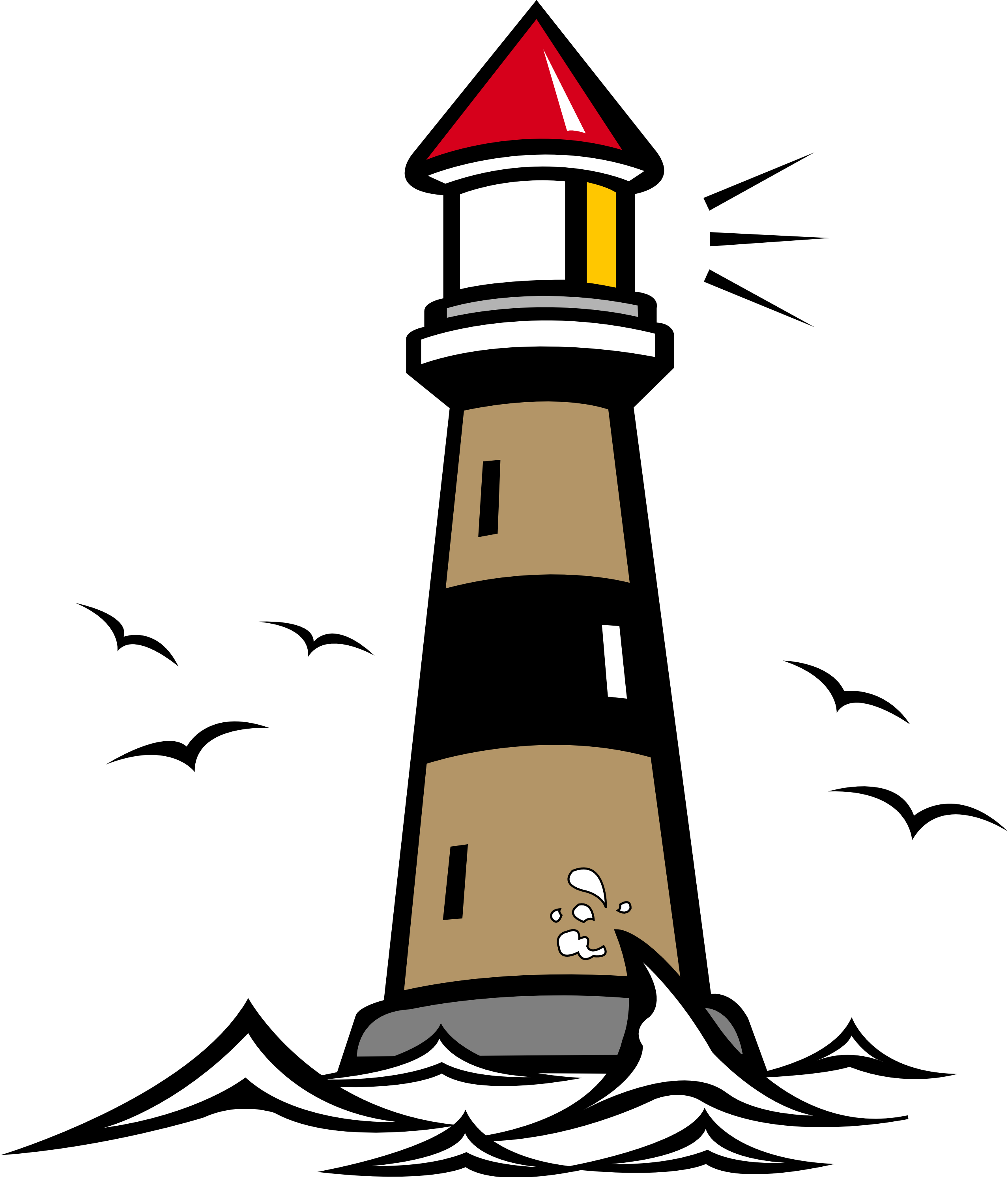 Lighthouse hanslodge cliparts. Library clipart vector